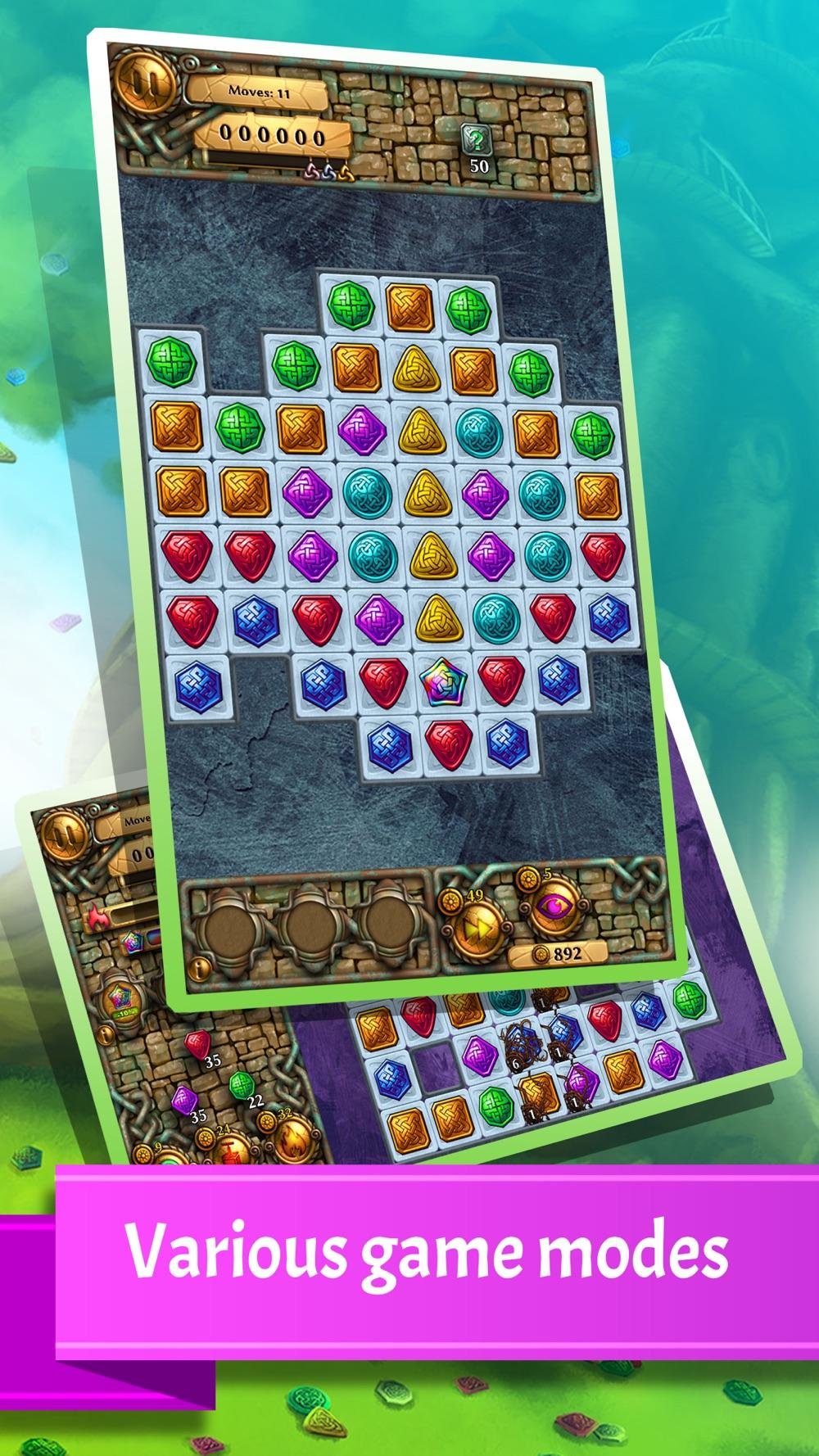 Jewel Tree: Match It puzzle HD Cheat Codes