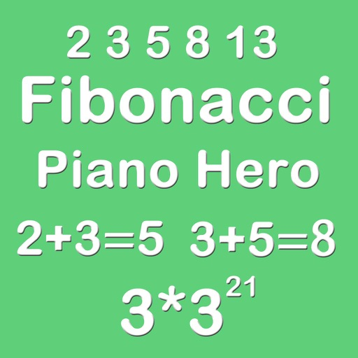 Piano Hero Fibonacci 3X3 - Sliding Number Block And