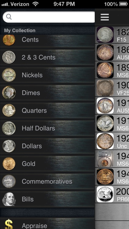 CoinVault - Store Your Coin Collection screenshot-3
