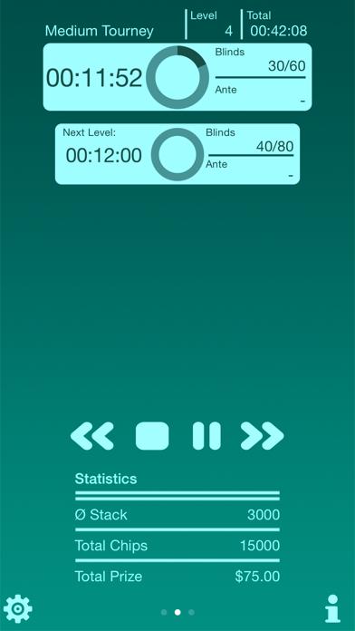 Poker Blind Timer Lite screenshot