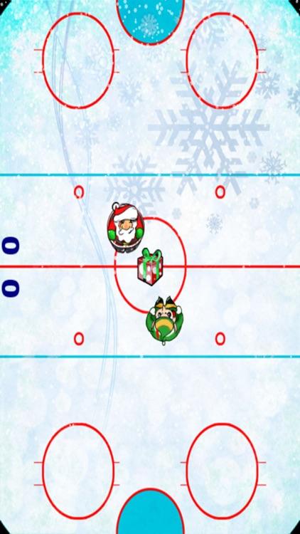 Christmas Elf Soccer - Classic Santa Hockey Showdown screenshot-3
