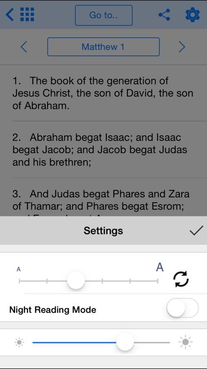 Holy Bible Offline for iPhone screenshot-3