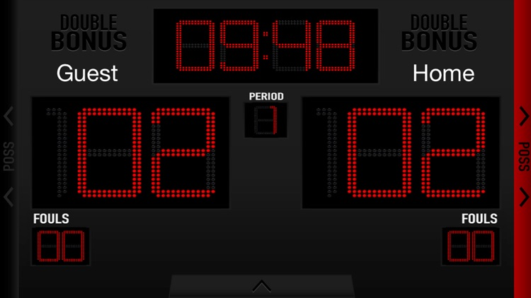 Basketball Scoreboard (Free Version)