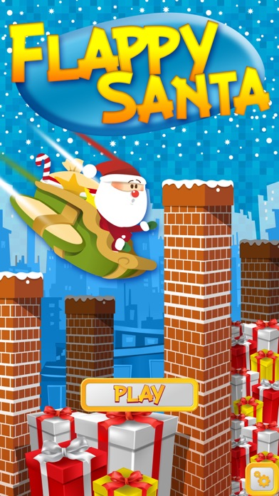 Dazzle Flappy Santa : Flying Santa Claus [Free] screenshot one