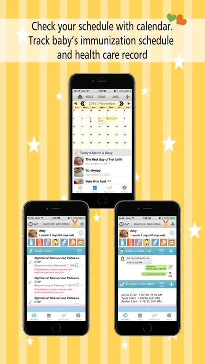 iCareRoom Baby Activity Tracker & Logger screenshot-3