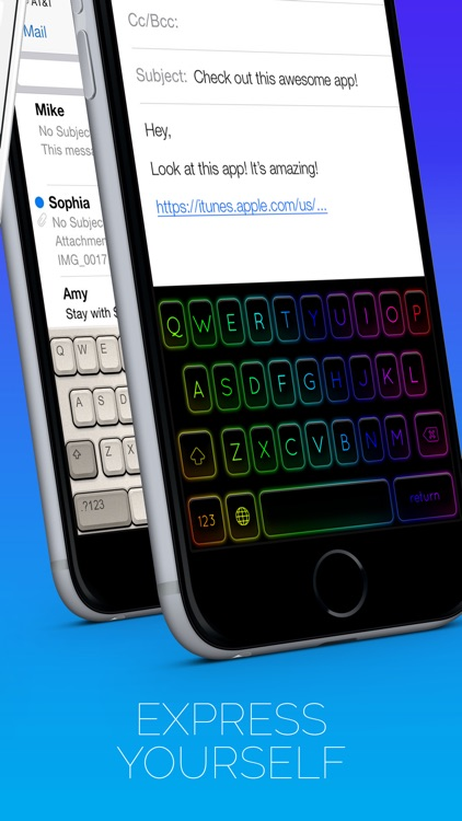 Cool Keyboards Pro for iOS 8 screenshot-4