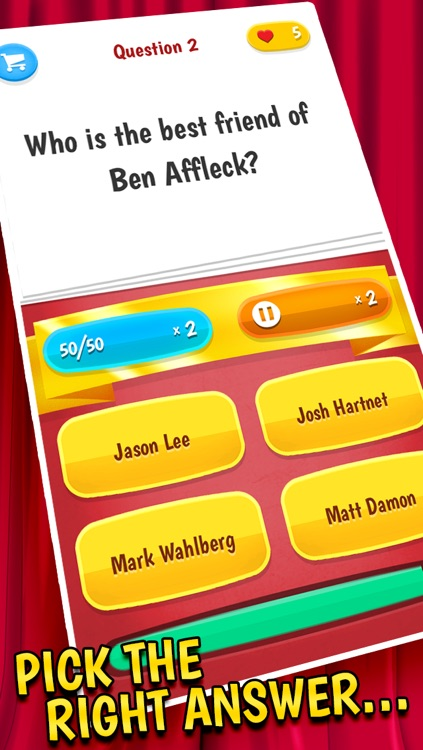 Celebrity Quiz – A Trivia Game Full Of Celebrity Gossip