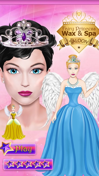 Fairy Princess Wax Salon & Spa - Make-up & Makeover Game for
