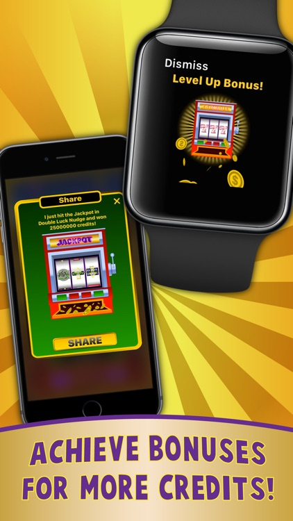 Double Luck Nudge Slots for Apple Watch screenshot-3