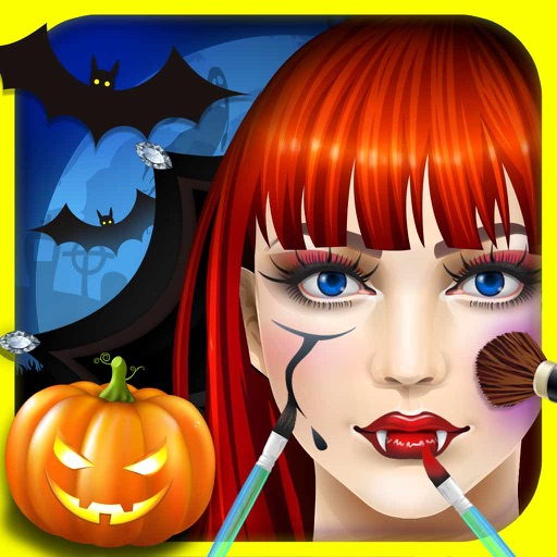 Halloween Makeup SPA - free girls games