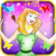 Princess Cinderella Colorbook Pro