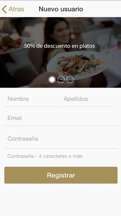Restaurant50 - reserva en restaurantes recomendados de Sevilla, Madrid, Málaga y Valencia screenshot-4