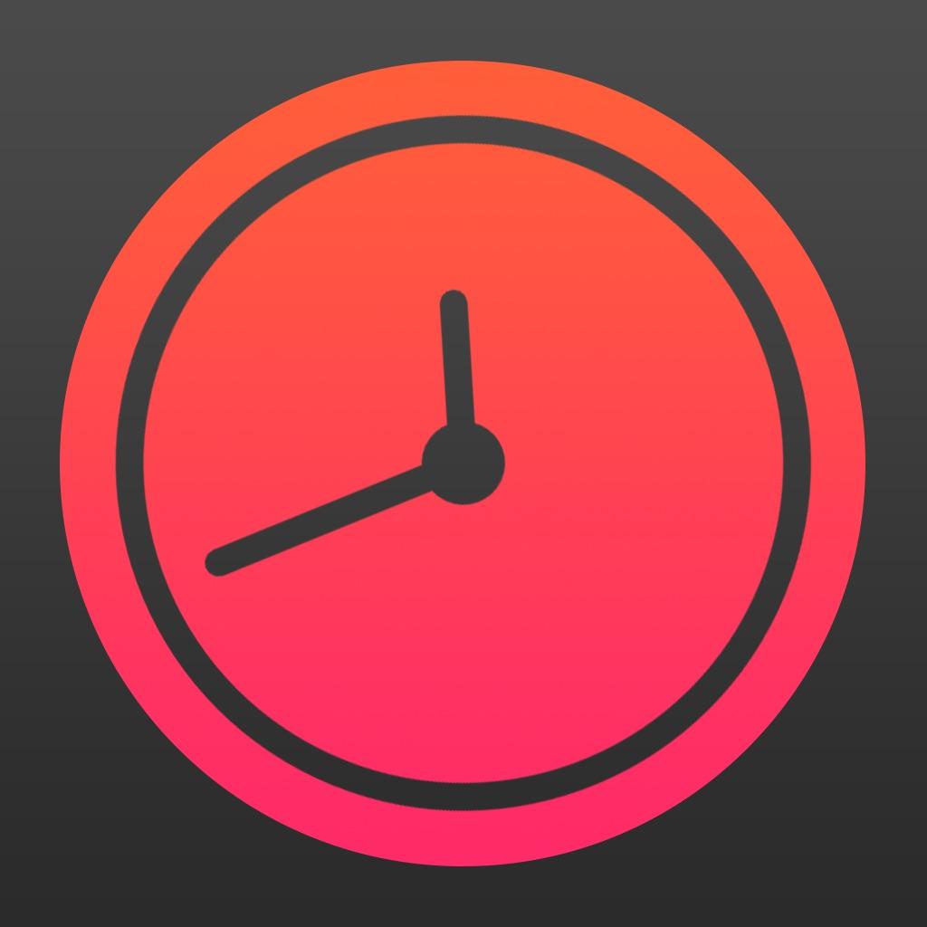 Nacht Klok - Nite Time - een eenvoudige avond klok vuoor w nachtkastje - night clock flashlight