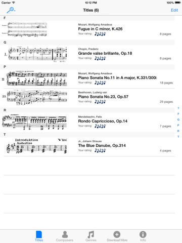 SheetRack Lite - Original Sheet Music Score Read... Скриншоты7