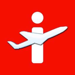 Flughafen Zürich - iPlane Fluginformationen