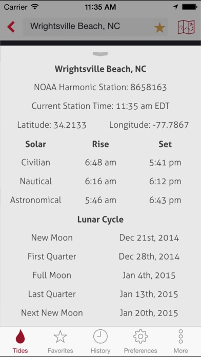 Rise - Tide & Solunar Predictions, Sun & Moon Forecasts-4
