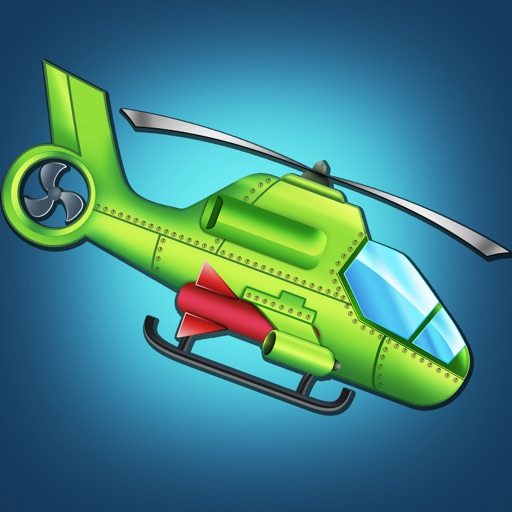 A1 Helicopter Monster Rampage Pro - cool airplane shooting mission game icon