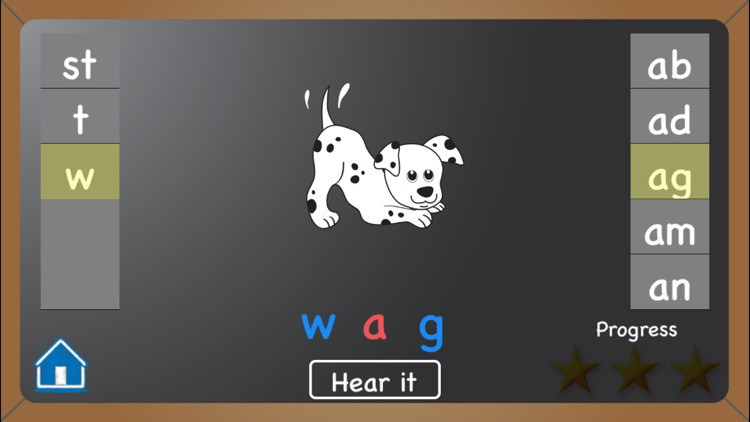 Word Wheel: Short Vowels screenshot-0