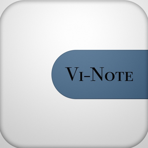 Vi-Note iOS App