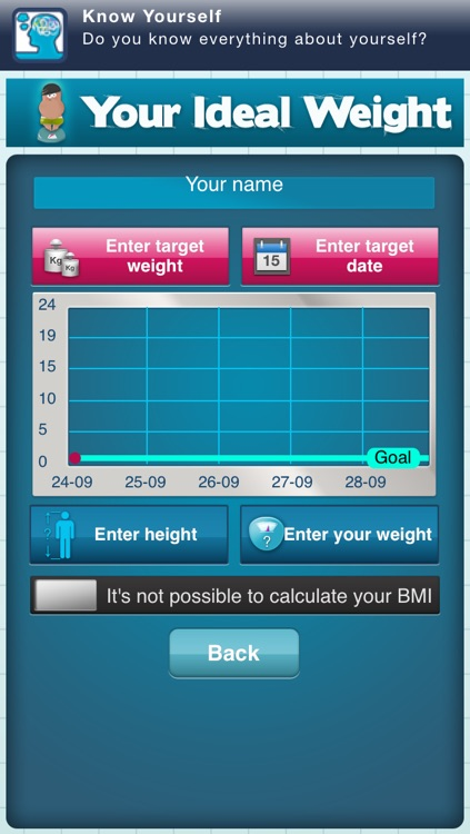 Your Ideal Weight: calculator for your losing diet screenshot-1