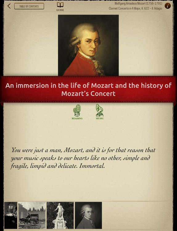Play Mozart – Clarinet Concerto K622 (interactive sheet music for clarinet) screenshot-4
