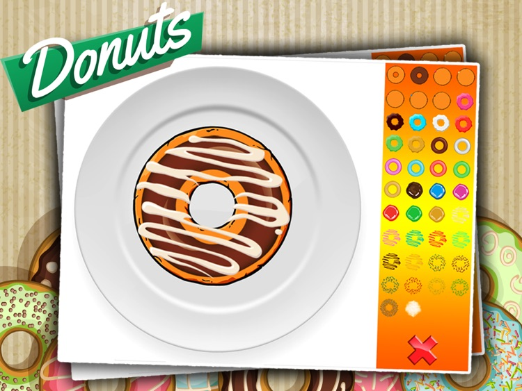 Donut Maker - Baking Game For Kids screenshot-3