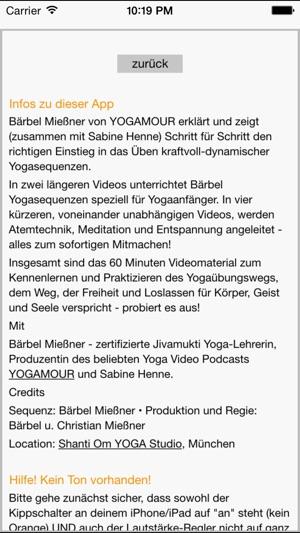 YOGAMOUR für Anfänger - Yoga Kurs on the App Store