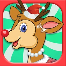 Activities of Reindeer Dress Up Maker - It's Christmas Eve Ready to pull Santa 's Sleigh FREE