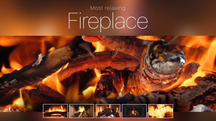 Most relaxing Fireplace
