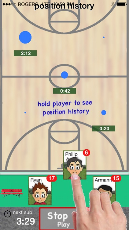 Who's On - Basketball screenshot-3
