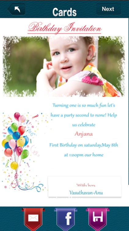 Birthday Invitation Pro