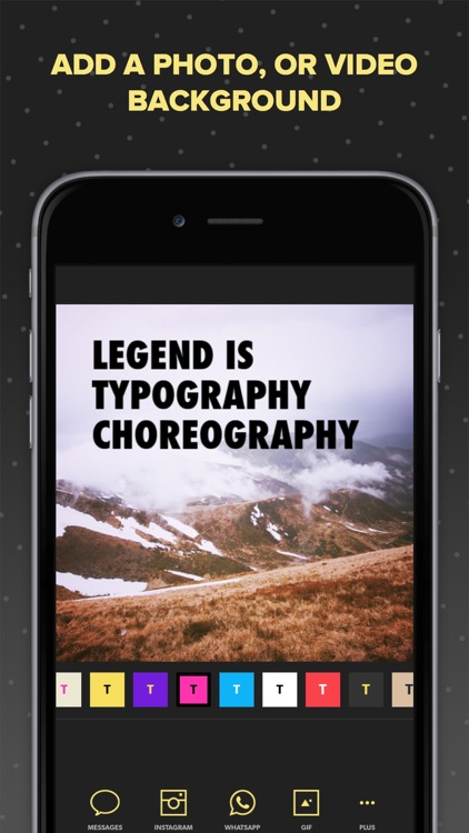 Legend - Animate Text in Video & GIF screenshot-3