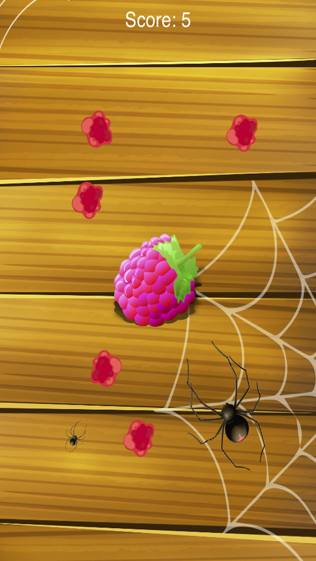 Attack of the Spider! Insect Smasher Game for Children