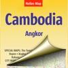 Камбоджа, Ангкор. Туристическая карта