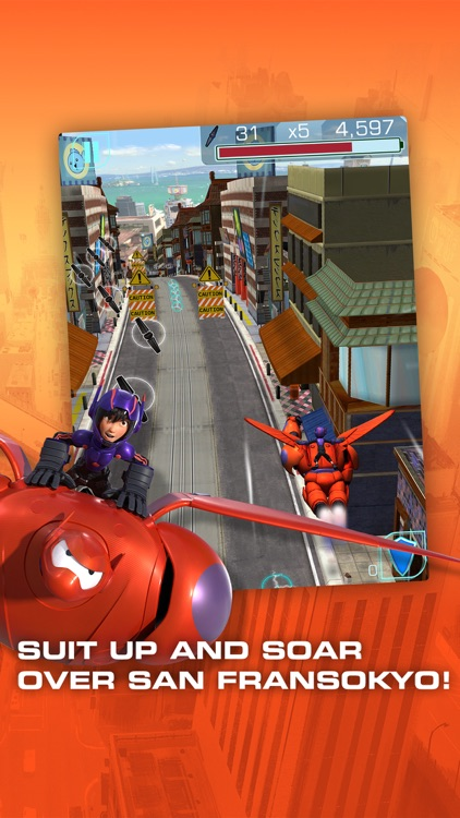 Big Hero 6: Baymax Blast screenshot-2