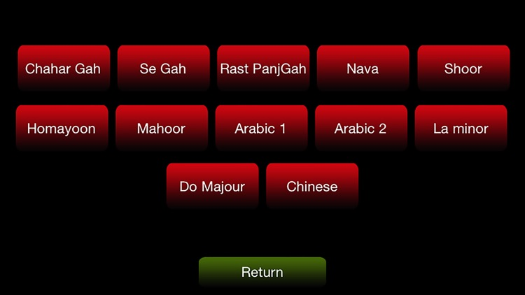 santoor persian / oriental musical instrument free screenshot-3