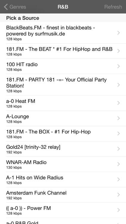 HiDef Radio Pro - News & Music Stations screenshot-3