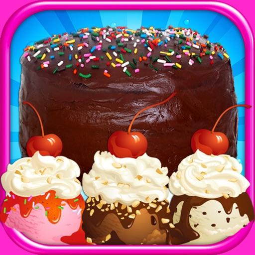 Cake & Ice Cream - Virtual Kids Cake & Dessert Maker