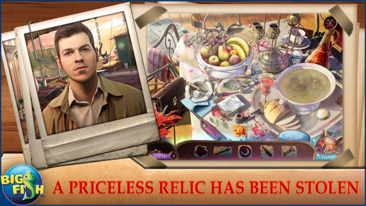 Off the Record: The Italian Affair - A Hidden Object Detective Game