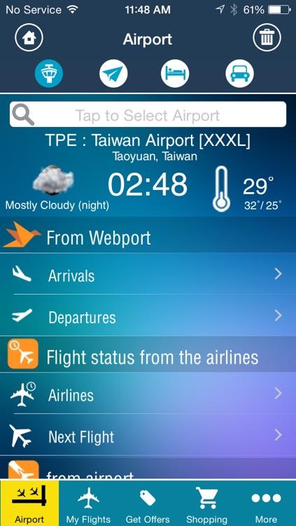 Taiwan Taoyuan Airport (TPE) Flight Tracker radar