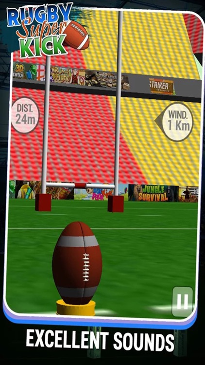 Rugby Super Kicks Free : The football league screenshot-3
