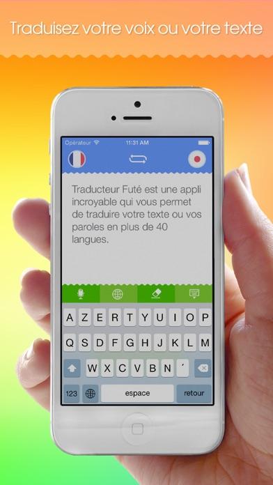 Screenshot #1 pour Traducteur Futé!