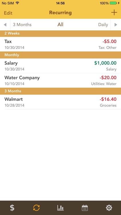Checkbook - Spending, Income, Cashflow and Account Tracker screenshot-4
