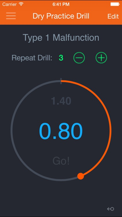 Dry Practice Drill screenshot-0