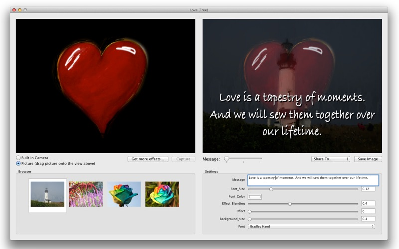 LoveFree Screenshot