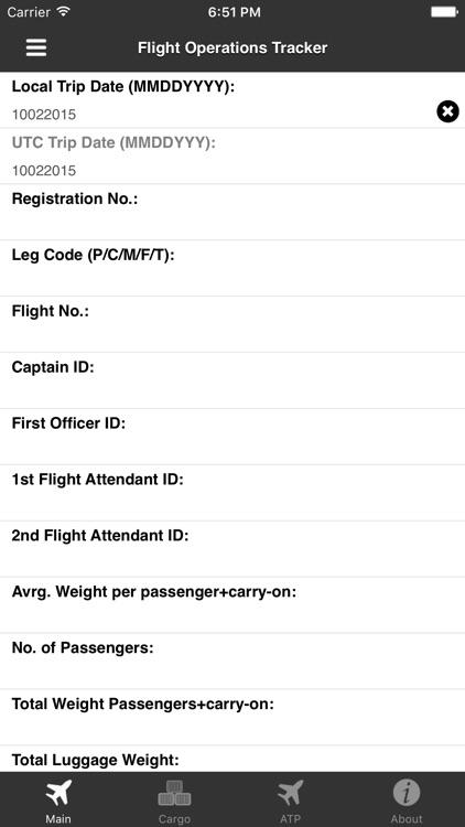 Flight Operation Tracker