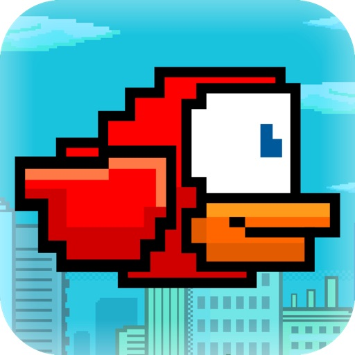 Flappy Red : A Family of Mini Bird Games icon