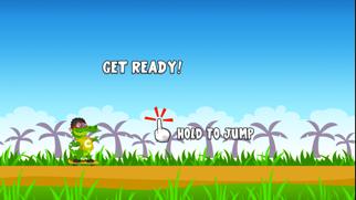 A Jumpy Croc