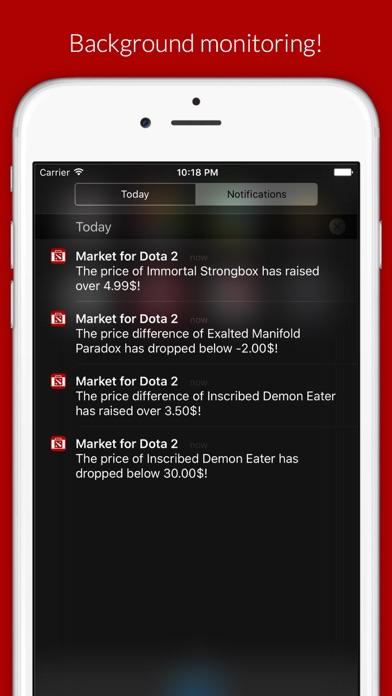 Market for Dota 2 Lite Screenshot