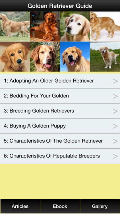 Golden Retriever Guide - Everything You Need To Know About Golden Retriever ! screenshot-0